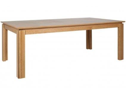 Dubový rozkládací jídelní stůl Acel 404 x 100 cm