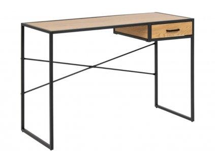 Dubový pracovní stůl Darila 110 cm