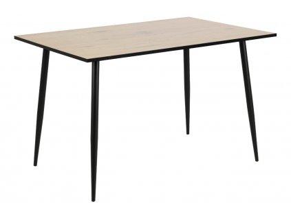 Světlý dubový jídelní stůl Wanda 120 cm