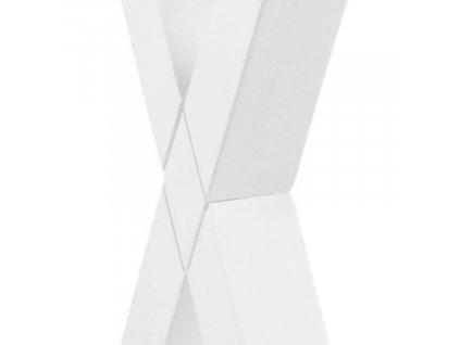 Bílý kaučukový pracovní stůl Text