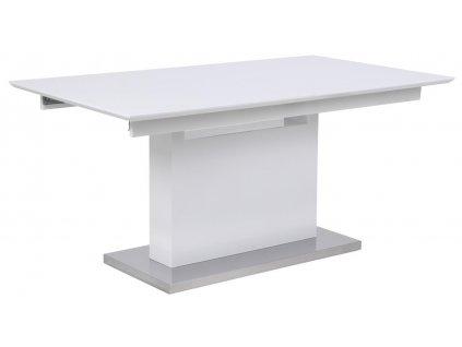 Bílý rozkládací jídelní stůl Dini