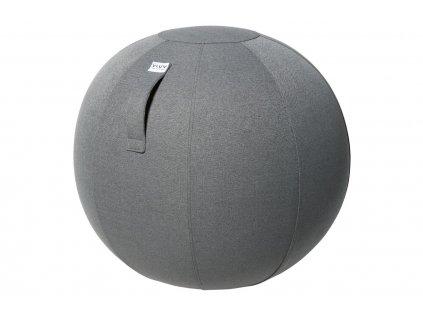 Šedý sedací / gymnastický míč  VLUV SOVA Ø 65