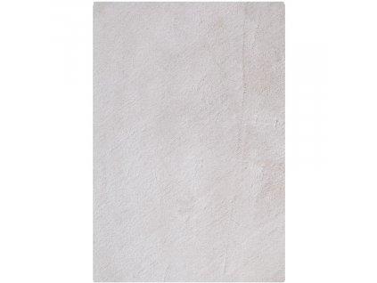 Bílý koberec Nordic Living Abbas 160x230 cm