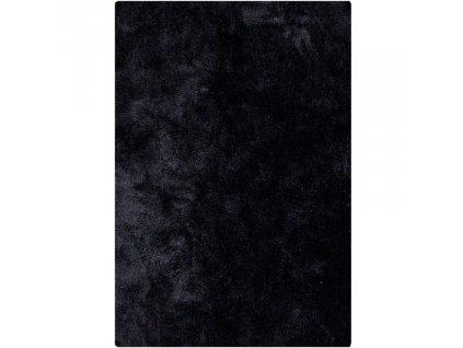 Černý koberec Nordic Living Abbas 160x230 cm