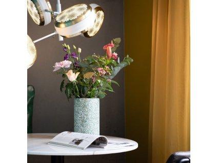 Zelená terrazzo váza ZUIVER FAJEN