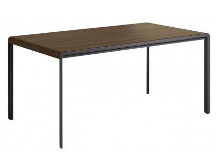 Masivní ořechový rozkládací jídelní stůl LaForma Nadyria 160/200 x 80 cm