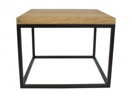 Konferenční stolek Malmo small s úložným prostorem 53x53 cm