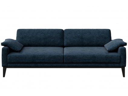 Tmavě modrá třímístná čalouněná pohovka MESONICA Musso 211 cmMesonica Musso 06A 3 2