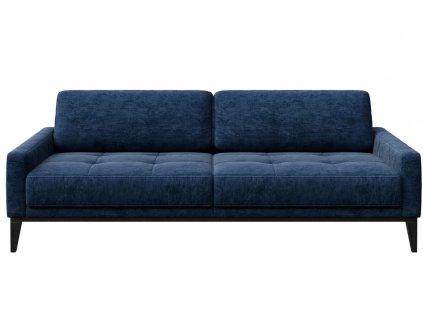 Tmavě modrá třímístná čalouněná pohovka MESONICA Musso Tufted 211 cmMesonica Musso 06B 3 2