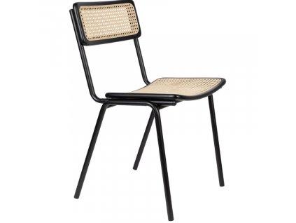 Černá jídelní židle Jort