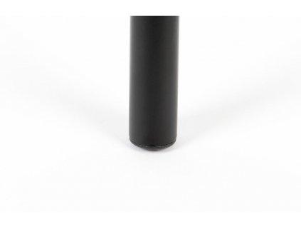 Černá ratanová barová židle ZUIVER JORT 106 cm