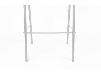 šedá ratanová barová židle ZUIVER JORT 106 cm