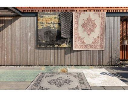 Černý koberec ZUIVER COVENTRY s orientálními vzory