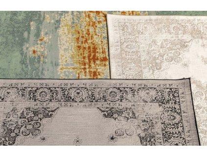 Šedý koberec ZUIVER COVENTRY s orientálními vzory