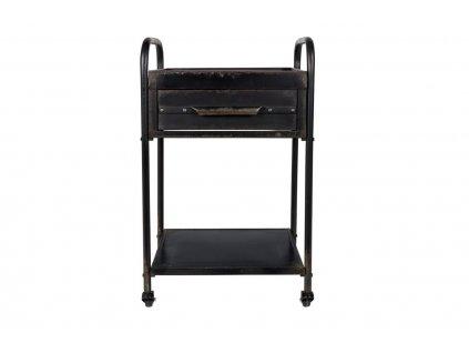 Černý vintage vozík WLL Vigo
