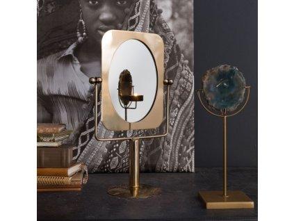 Mosazné sklopné stolní zrcadlo DUTCHBONE Pris