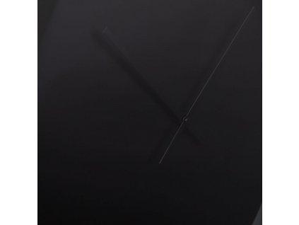 Nástěnné černé minimalistické hodiny ZUIVER BANDIT