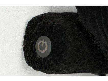 Černá svítící soška Bold Monkey Light My Fire