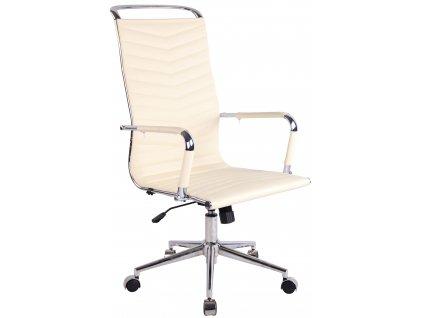 Béžová kancelářská židle Lexus
