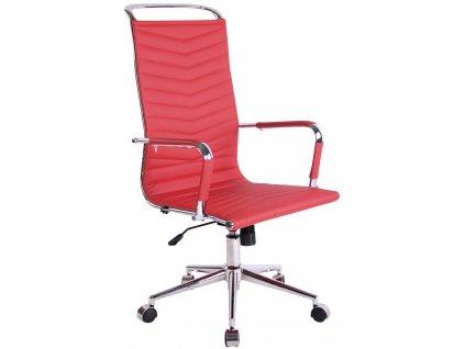 Červená kancelářská židle Lexus
