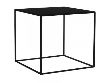 Černý kovový konferenční stolek Moreno 50 x 50 cm848x848