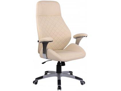 Krémová kancelářská židle Bentley
