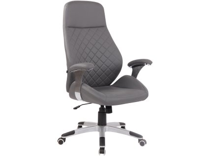 Šedá kancelářská židle Bentley