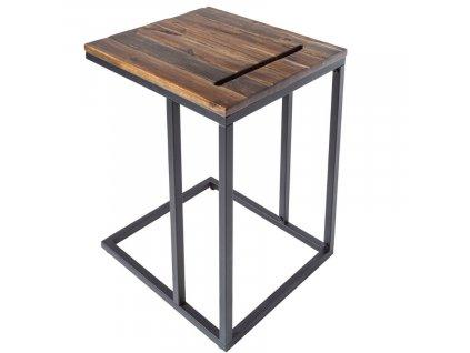 Akátový odkládací stolek Toleto 43x38cm