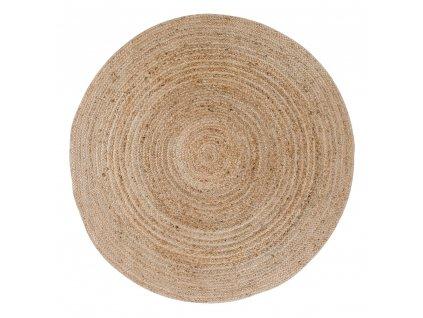 Přírodní jutový koberec Nordic Living Bombay 180 cm