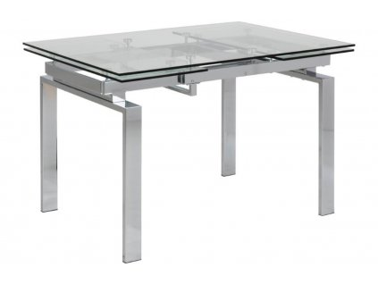 Skleněný jídelní stůl Karlo 200x85 cm