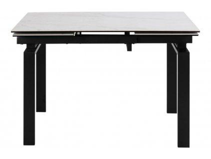 Černobílý jídelní stůl Maddo 200 x 85 cm