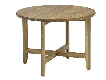 Přírodní dubový konferenční stolek HOUE Spän 60 cm