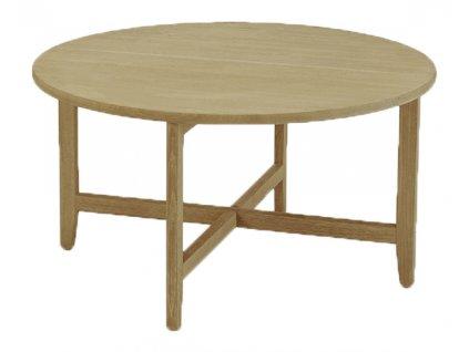 Přírodní dubový konferenční stolek HOUE Spän 80 cm