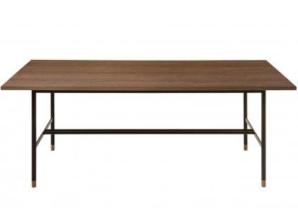 Hnědý ořechový jídelní stůl Woodman Jugend