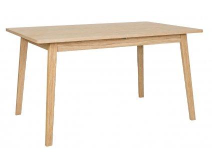 Hnědý dubový rozkládací jídelní stůl Woodman Skagen