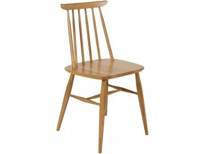 Hnědá masivní jídelní židle Woodman Aino