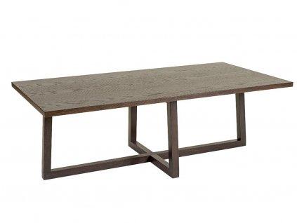 Tmavě hnědý konferenční stolek Woodman Brentwood 115x60 cm