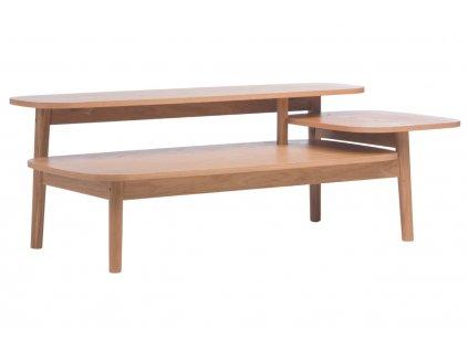 Hnědý konferenční stolek Woodman Eichberg 120x60 cm