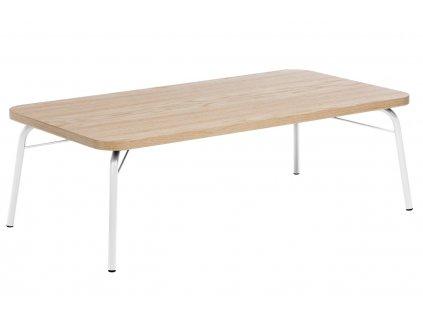 Hnědý dubový konferenční stolek Woodman Ashburn II. 125x65 cm