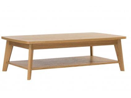 Hnědý dubový konferenční stolek Woodman Kensal 115x65 cm