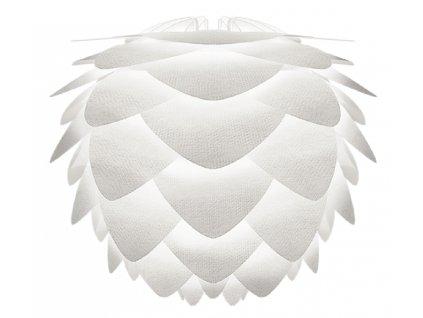 Bílé papírové závěsné světlo Silvia Create Ø 32 cm