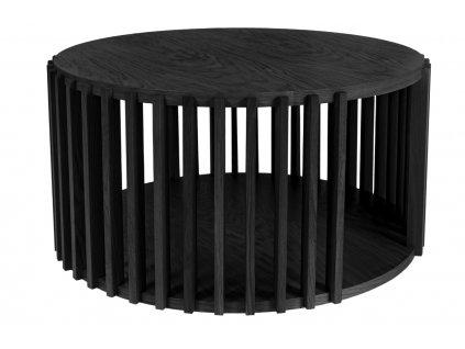 Dubový kulatý konferenční stolek Woodman Drum I. 83 cm