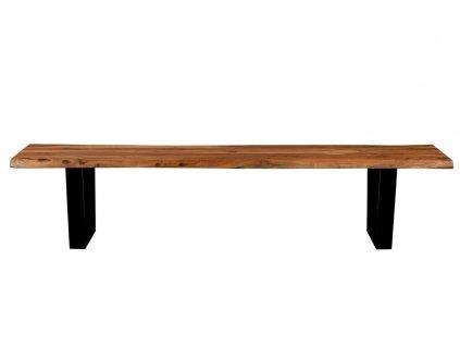 Masivní dřevěná lavice DUTCHBONE AKA 200 cm