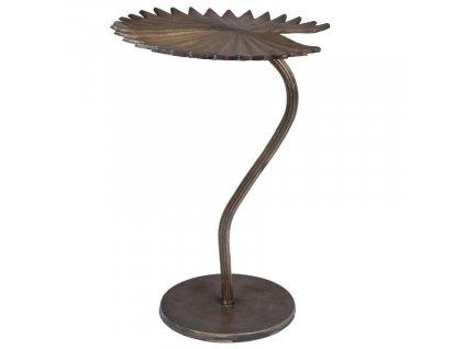 Mosazný odkládací stolek DUTCHBONE LEELA M