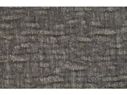 Šedá látková trojmístná pohovka ZUIVER SENSE 266 cm