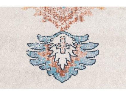 Modrý koberec s orientálními vzory DUTCHBONE Mahal 170x240 cm