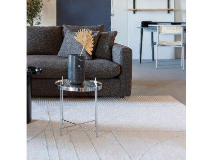 Šedo modrý koberec ZUIVER BLISS 160 x 230 cm