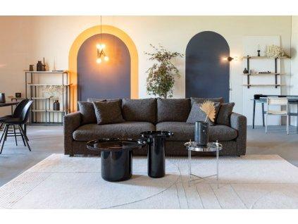 Šedo modrý koberec ZUIVER BLISS 200 x 300 cm