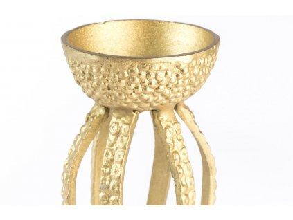 Zlatá kovová miska BOLD MONKEY TROUBLE IN THE WATER