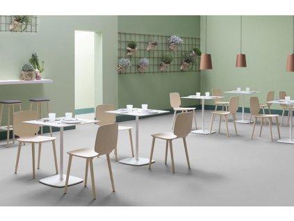 Přírodní jasanová jídelní židle Babila 2700